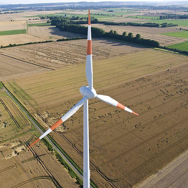 Landschap: vanaf 30 tot 40 km zichtbaar